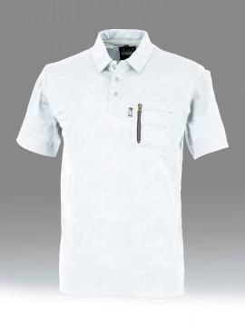 OD-47654 tASkfoRce ポロシャツ 拡大図・ホワイト