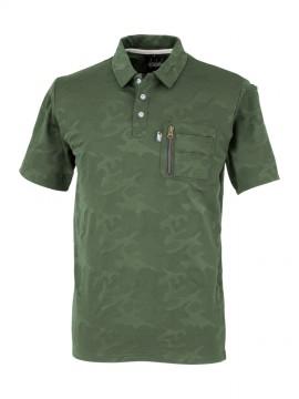 OD-47654 tASkfoRce ポロシャツ 拡大図・アーミー