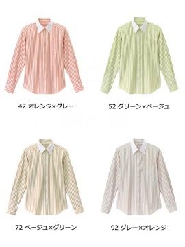 BS-24310 ボタンダウンシャツ カラー一覧