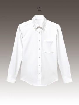 ニットボタンダウンシャツ