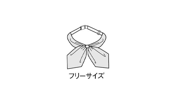BS-98220 スカーフ サイズ表