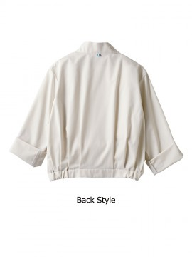 BW8501 ブルゾン(長袖) バックスタイル
