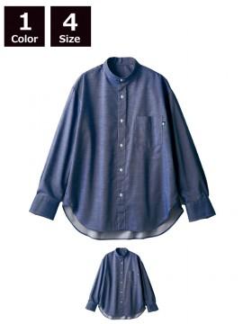 BW2503 ワイドシャツ(長袖) 拡大画像