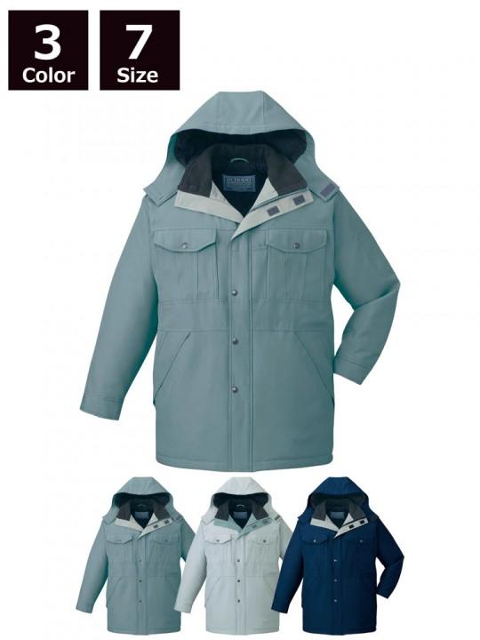 エコ防寒コート(フード付き)