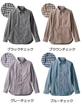 BW2504 シャツ(長袖) カラー一覧