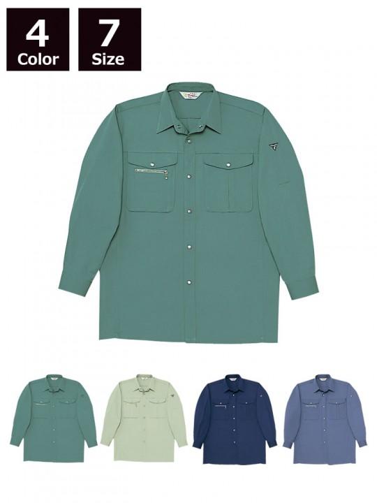 ノンプル長袖シャツ