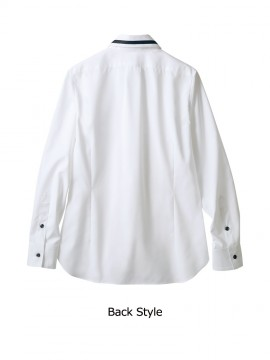 BW2502 シャツ(長袖) バックスタイル