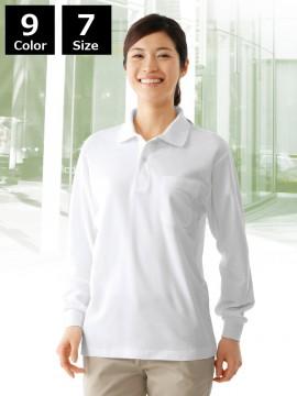 JC-24434 長袖ポロシャツ