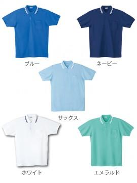 JC-24454 半袖ポロシャツ カラー一覧