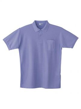 JC-24414 製品制電半袖ポロシャツ バックスタイル