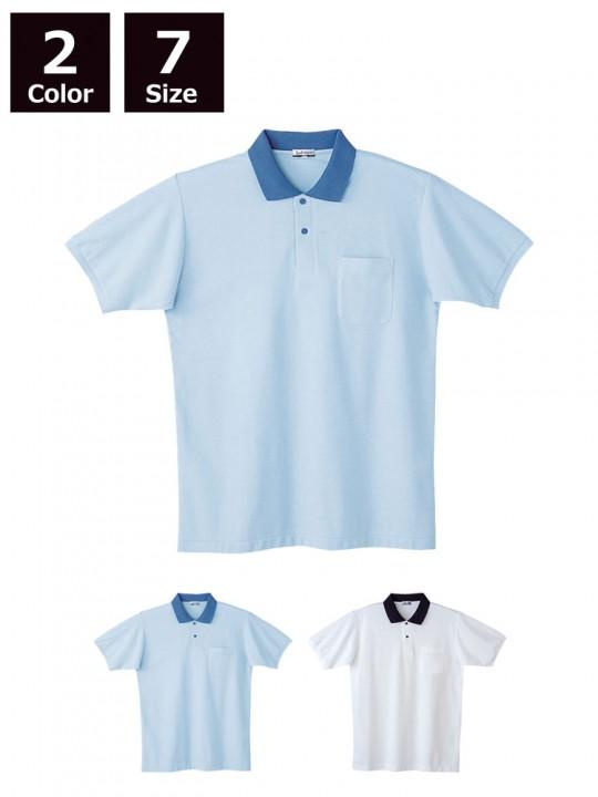 JC-24444 製品制電半袖ポロシャツ