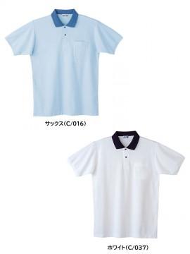 JC-24444 製品制電半袖ポロシャツ カラー一覧