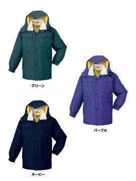 JC-28063 防水防寒コート(フード付き) カラー一覧