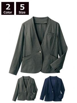 CKBR1101 ニットジャケット(長袖) 拡大画像
