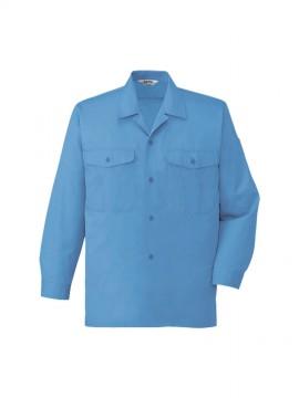 JC-44324 エコ製品制電長袖オープンシャツ