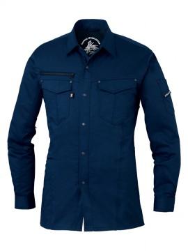 JC75004 ストレッチ長袖シャツ
