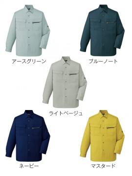 JC-46204 長袖シャツ カラー一覧