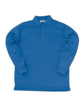 KU-25442-1 長袖ポロシャツ(脇スリット)機能1