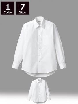 BM-FB4561U ユニセックス長袖シャツ 全身像