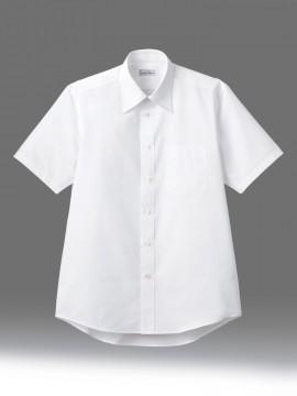BM-FB4562U ユニセックス半袖シャツ 拡大画像 ホワイト