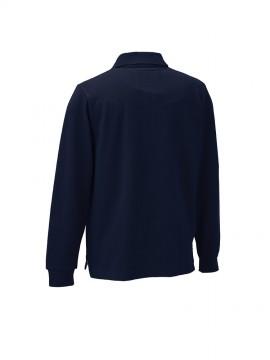 KU-25447 長袖ポロシャツ(脇スリット)機能1