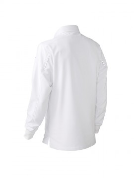 KU-25450 長袖ポロシャツ(脇スリット)機能1