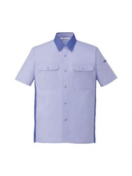 JC-46814 エコ製品制電半袖シャツ