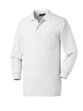 KU-25902 長袖ポロシャツ 拡大画像