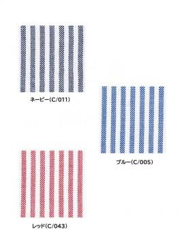 JC43654 形態安定半袖シャツ カラー一覧
