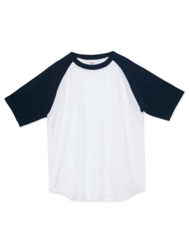 WE-00106-CRT 5.6オンス ヘビーウェイトラグランTシャツ 拡大画像