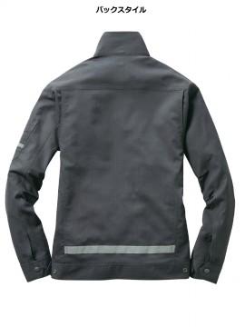 BUR9091 ジャケット(ユニセックス)バックスタイル