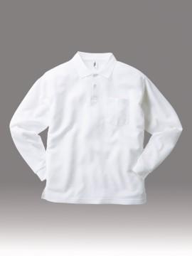 APL269 ポケット付き 長袖 アクティブ ポロシャツ 拡大
