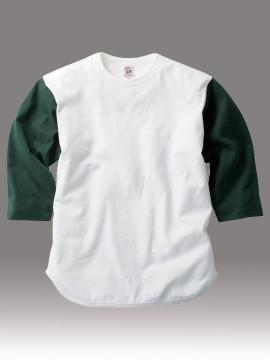 OE1230 オープンエンド 3/4 スリーブ ベースボール Tシャツ 拡大