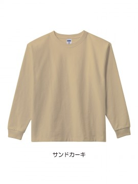 BM-MS1608 10.2オンススーパーヘビーウェイトロングスリーブTシャツ 拡大画像