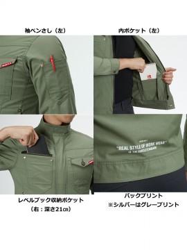 591 ジャケット(ユニセックス) 多機能紹介