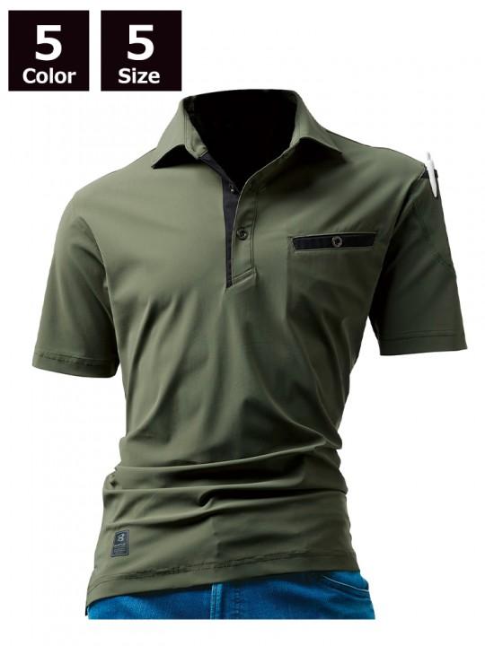 227 半袖アイスポロシャツ(ユニセックス)