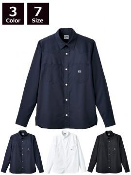 BM-LCS49001 ユニセックス長袖シャツ 着用例