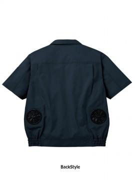 JC-54010 空調服長袖ブルゾン バックスタイル