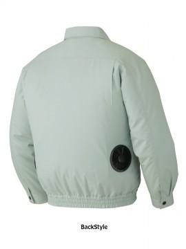JC-87040 空調服長袖ジャケット バックスタイル