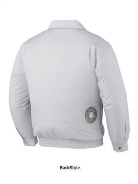 JC-87000 空調服長袖ジャケット バックスタイル