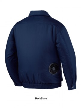 JC-87010 空調服長袖ジャケット バックスタイル