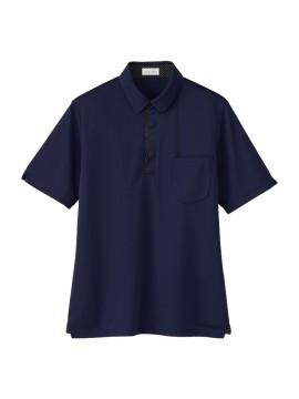 BM-FB4554U ユニセックス ポロシャツ 拡大画像 ネイビー