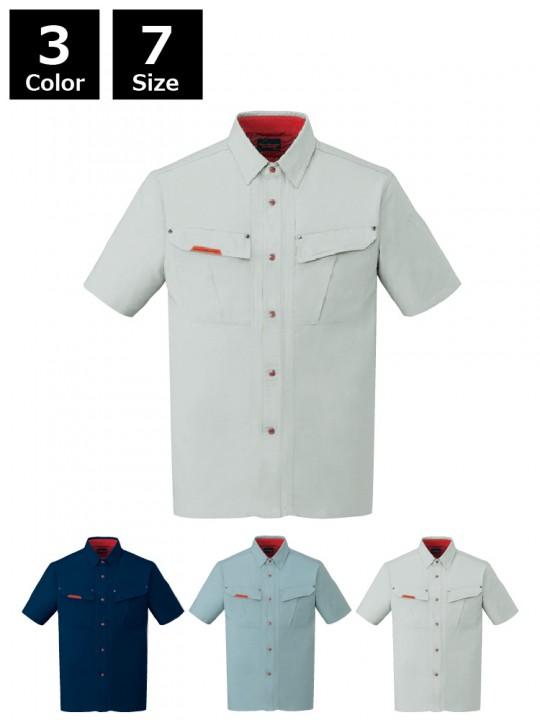 抗菌防臭半袖シャツ