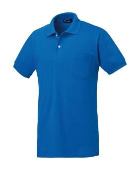 KU-26902 半袖ポロシャツ(ちょうちん袖) 拡大画像
