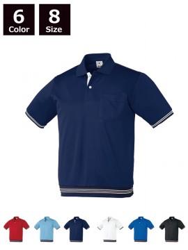 半袖ポロシャツ(リブ付)