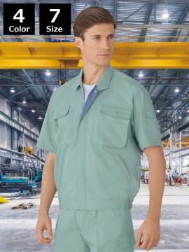 製品制電半袖ブルゾン