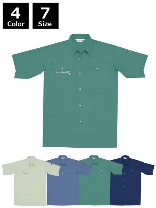 ノンプル半袖シャツ