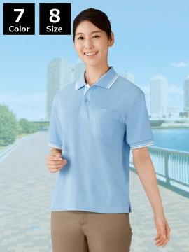 JC-85274 吸汗速乾半袖ポロシャツ