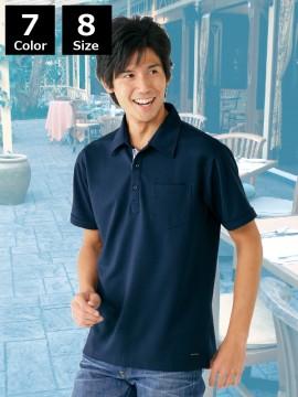 吸汗速乾半袖ポロシャツ