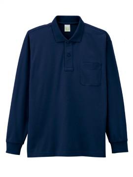 JC-85244 エコ製品制電長袖ポロシャツ
